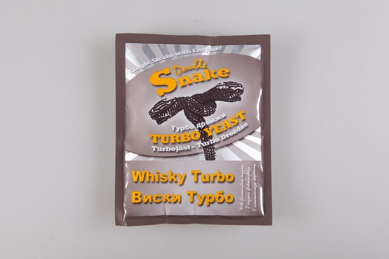 Турбо дрожжи DoubleSnake Turbo Whisky